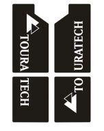Dekorsatz Gabel für BMW R1200GS/ADV bis 2013