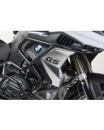 Sturzbügelerweiterung Edelstahl, schwarz für BMW R1200GS (LC) ab 2017