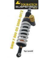 Touratech Suspension Federbein für BMW F800GS bis 2012 Typ Level2/ExploreHP