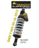 Touratech Suspension Federbein für BMW F800GS ab 2013 Typ Level2/ExploreHP
