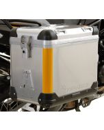 Reflexstreifen 3M orange für Kofferkanten ZEGA Pro / ZEGA Pro2 (Lieferumfang: 2 Aufkleber)
