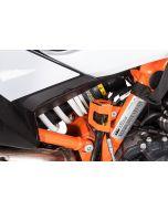 Schutz Bremsflüssigkeitsbehälter, hinten orange für KTM 890 Adventure/ 890 Adventure R/ 790 Adventure / Adventure R/ 1290 Super Adventure (2021-)