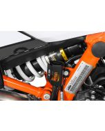Schutz Bremsflüssigkeitsbehälter, hinten schwarz für KTM 890 Adventure/ 890 Adventure R/ 790 Adventure/ Adventure R/ 1290 Super Adventure (2021-)