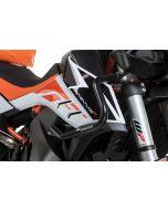 Verkleidungssturzbügel Edelstahl, schwarz für KTM 890 Adventure/ 890 Adventure R/ 790 Adventure/ 790 Adventure R