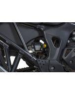 Schutz Bremsflüssigkeitsbehälter, hinten, schwarz für Honda CRF1000L Africa Twin (2018-)/ CRF1000L Adventure Sports