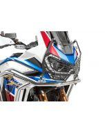 """Scheinwerferschutz schwarz mit Schnellverschluss für Honda CRF1100L Adventure Sports """"OFFROAD USE ONLY"""""""