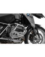 Zylinderschutz / Ventildeckelschutz Alu natur, für BMW R1200GS ab 2013/ BMW R1200RT ab 2014/ BMW R1200R ab 2015/ BMW R1200RS