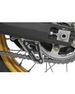 Kettenschutzfinne, schwarz, für Honda CRF 1000L Africa Twin/ CRF1000L Adventure Sports