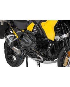 Sturzbügel Edelstahl, schwarz für BMW R1250GS