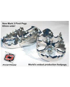 Pivot Pegz - Gelenkfußrasten *Mark3* für BMW R1200GS bis 2012/R1200GS Adventure bis 2013