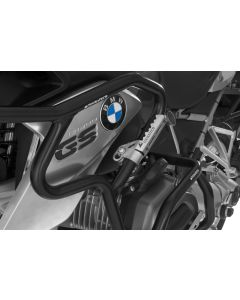 Highway Pegs für Rohre mit einem Durchmesser von 25 mm z.B. für BMW R1200GS ab 2013, Triumph Tiger Explorer, KTM LC8