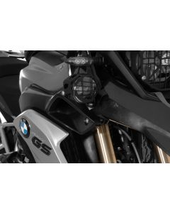 Zusatzscheinwerfer LED Satz Nebel rechts/Fernlicht links, schwarz, BMW R1200GS ab 2013