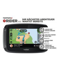 TomTom Rider 550 World, Lifetime weltweite Karten