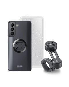 Handyhalterungsset für Samsung S21, SP Connect Moto Bundle