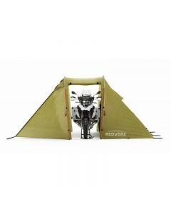 Zelt für Motorradreisende Redverz Solo Expedition Tent, grün