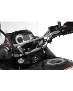 Lenkererhöhung 30 mm Typ3, schwarz, für Suzuki DL 650/V-Strom 650/DL1000, KTM LC4