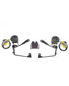 LED Zusatzscheinwerfer Satz Nebel rechts/Fernlicht links für Honda CRF1000L Africa Twin / CRF1000L Adventure Sports