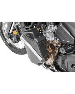 Werkzeugbox mit Motorsturzbügel - Nachrüstsatz - linke Seite, Edelstahl für Honda CRF1100L Africa Twin/ CRF1100L Adventure Sports