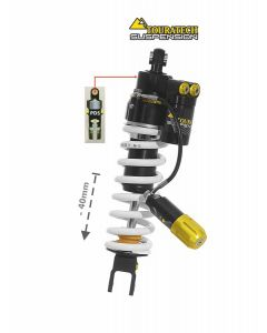 Touratech Suspension Tieferlegung -40mm Honda CRF1100L Adventure Sports (ohne EERA) ab 2020 Typ Extreme