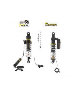 Touratech Suspension FAHRWERKSET Plug & Travel Tieferlegung -40mm für BMW R1200GS/R1250GS Adventure ab 2017